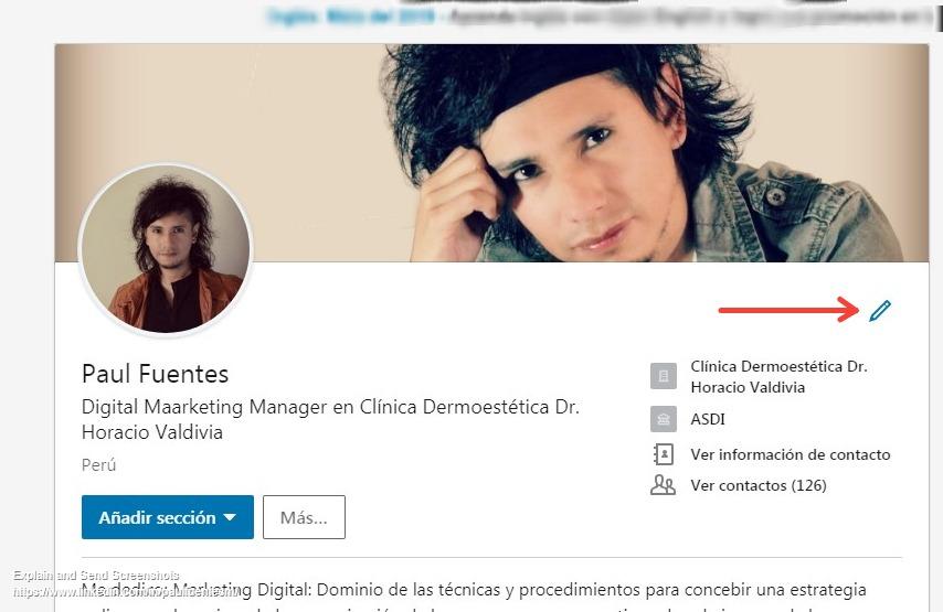 imagen de perfil linkedin