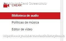 crear musica youtube