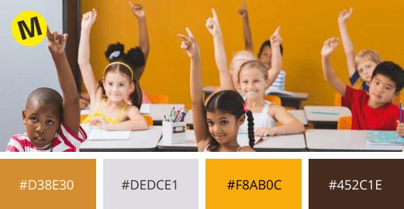 ejemplo 3 educacion colores