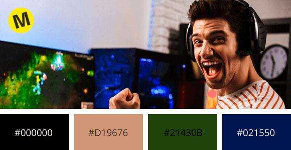 ejemplo 3 entretenimiento colores