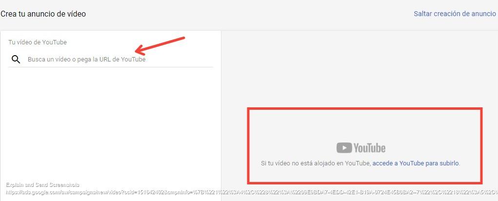 elegir video