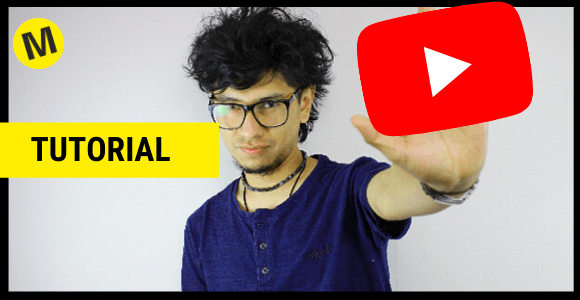 mostrando logo de youtube