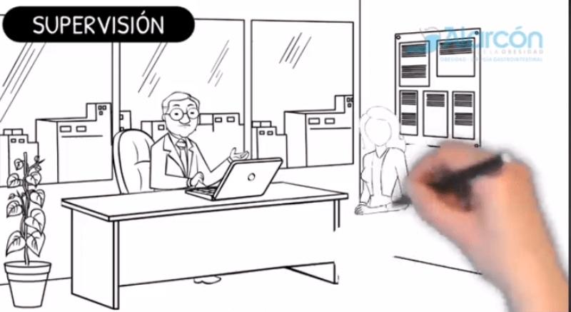 animacion mano alzada