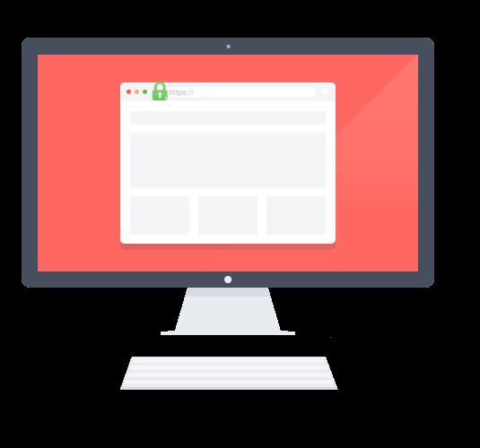 web con ssl